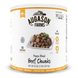 Freeze-Dried Beef Chunks 16oz Can-0