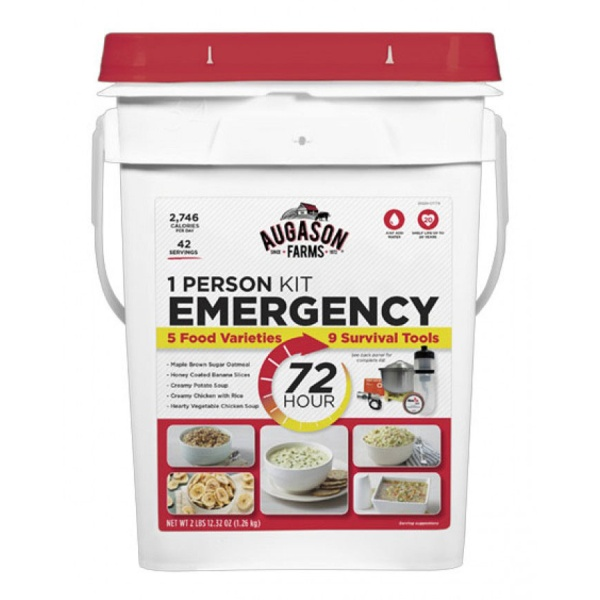 72 Hour 1-Person Emergency Kit-0