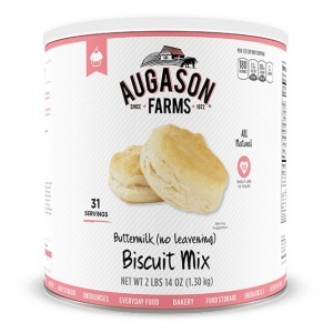 Buttermilk Biscuit Mix (no leavening) 31 Servings Can-0
