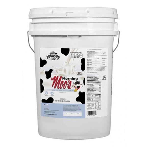 Morning Moo's Milk 30lb 6 Gallon Pail-0