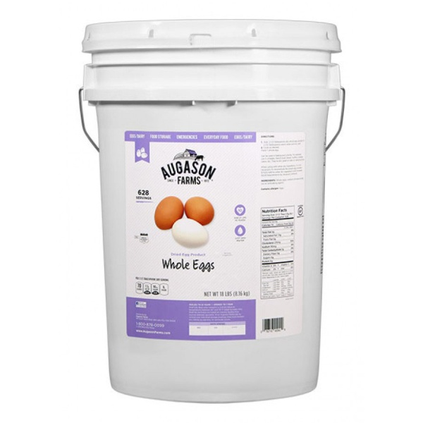 Whole Eggs 18lb 6 Gallon Pail-0