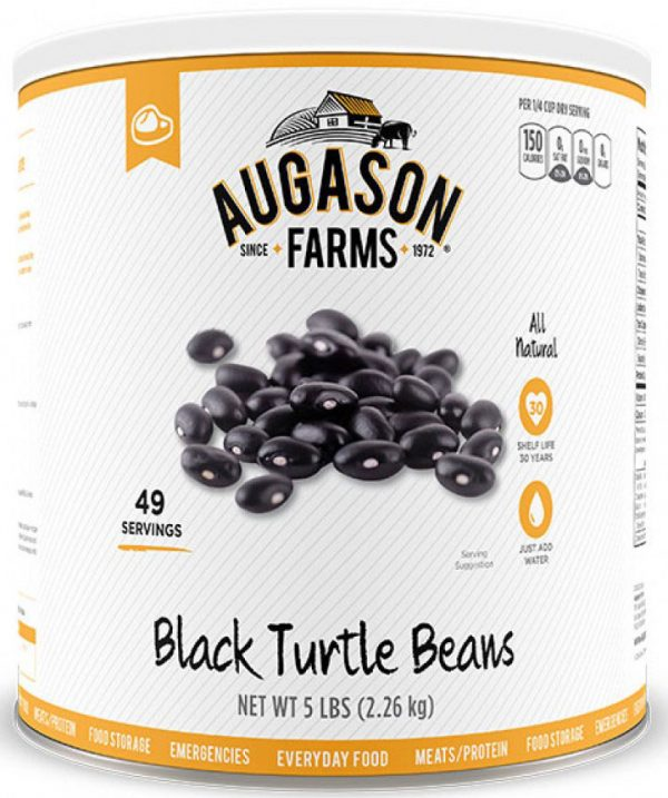 Black Turtle Beans 80oz Can-0