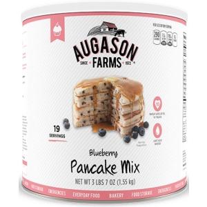 Blueberry Pancake Mix 55oz Can-0