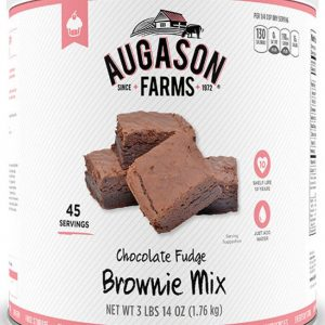 Fudge Brownie Mix 62oz Can-0