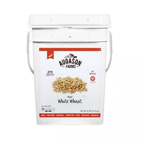 Hard White Wheat 26lb 4 Gallon Pail-0