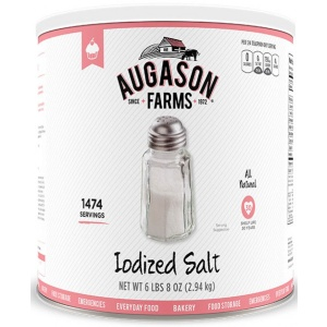 Iodized Salt 104oz Can-0