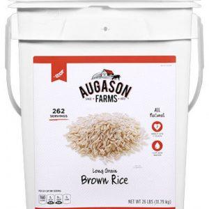 Brown Rice 26lb 4 Gallon Pail-0