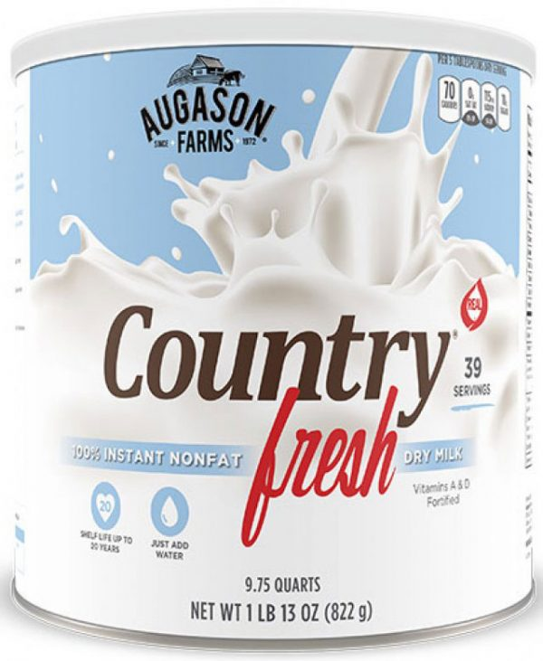 100% Non-Fat Instant Milk 29oz Can-0