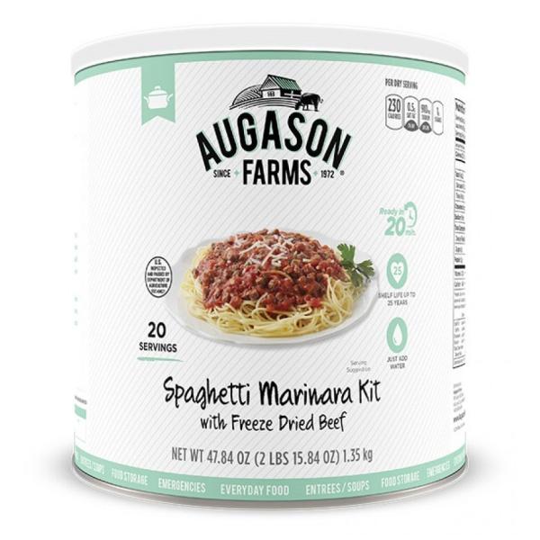 Spaghetti Marinara 20 Servings Can-0