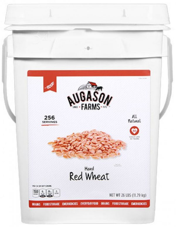 Hard Red Wheat 26lb 4 Gallon Pail-0