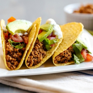 Taco Flavored Vegetarian Meat Substitute 30 Servings-2036