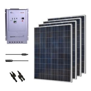 Renogy 1000W Polycrystalline Solar Panel Cabin Kit-0