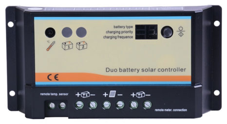 Renogy 10 Amp PWM Dual Battery Charge Controller-0