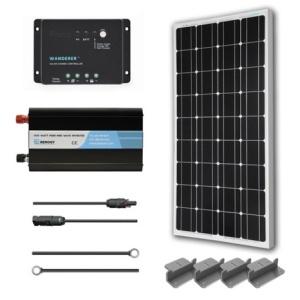 Renogy 100W Monocrystalline Complete Kit-0