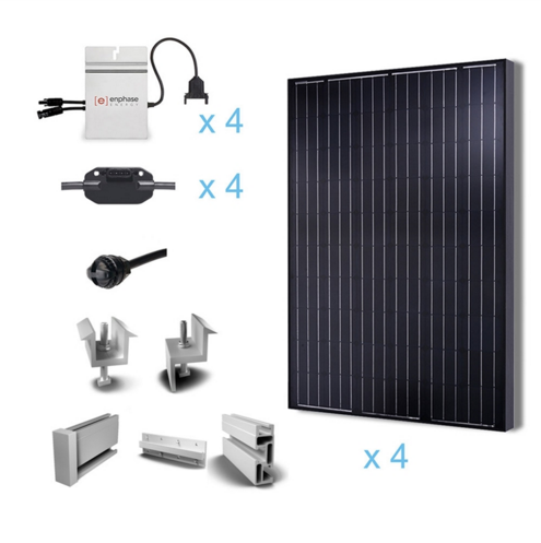 Renogy 1KW Grid-Tied Complete Solar Kit -0