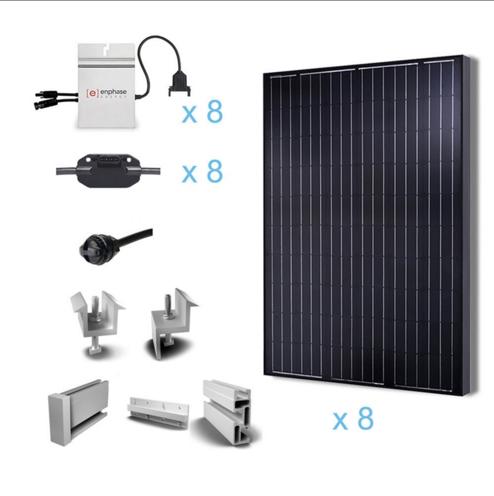 Renogy 2KW Grid-Tied Complete Solar Kit-0