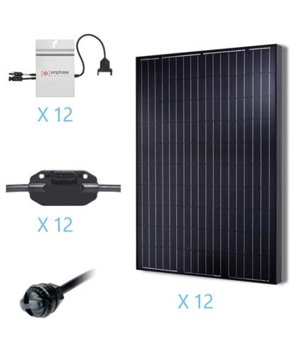 Renogy 3KW Grid-Tied Basic Solar Kit-0