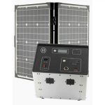 1500 Series Solar Generator Kit 0.64kWh by Humless with EMP Bag-2111