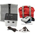 1500 Series Solar Generator Kit 0.64kWh by Humless with EMP Bag-0