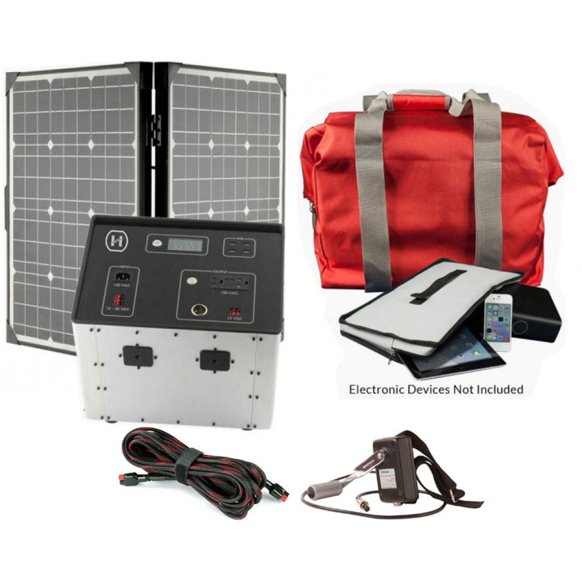 1500 Series Generator By Humless With Solar Panel Amp Emp