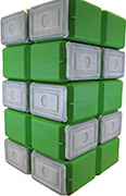 FoodBrick Standard Green 10 Pack-0