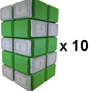 FoodBrick Standard Green 100 Pack-0
