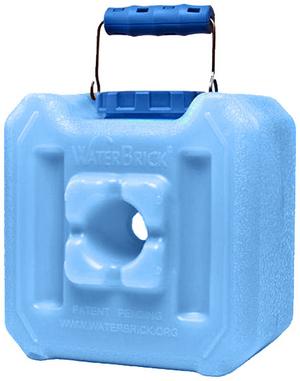 WaterBrick Half Blue - Holds 127 Servings-0