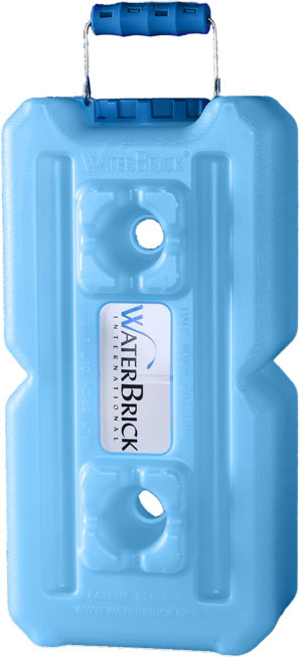 WaterBrick Standard Blue 10 Pack - Holds 2640 Servings-1705