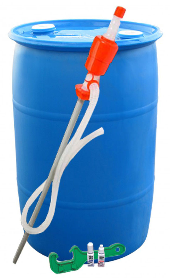 55 Gallon Drum Water Storage Kit-0