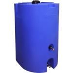 Blue 160 Gallon Water Storage Tank-0