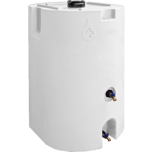 White 160 Gallon Water Storage Tank-0