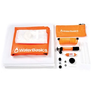 WaterBasics 30 Gallon Water Storage Kit with Filter-1755