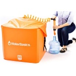 WaterBasics 60 Gallon Water Storage Kit with Filter-1761