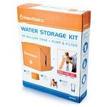 WaterBasics 30 Gallon Water Storage Kit with Filter-1758