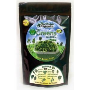 Heirloom Organics Leafy Greens Seed Pack-0