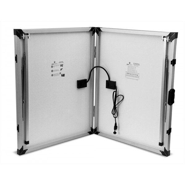 Lion Energy 1500 Watt Expandable FTB 50 Ascent Solar Generator Kit with 2 Panels & Expandable Battery Pack-2311