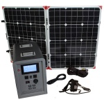 Lion Energy 1500 Watt Expandable FTB 50 Ascent Solar Generator Kit with 1 Panel-0
