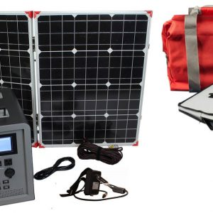 Lion Energy 1500 Watt Expandable FTB 50 Ascent Solar Generator Kit with 1 Panel & EMP Bag-0