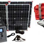 Lion Energy 1500 Watt Expandable FTB 50 Ascent Solar Generator Kit with 2 Panels & EMP Bag-0