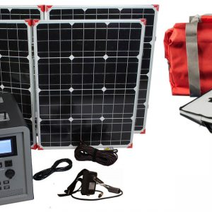 Lion Energy 1500 Watt Expandable FTB 50 Ascent Solar Generator Kit with 2 Panels & EMP Bag-0