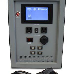 Lion Energy 1500 Watt Expandable FTB 50 Ascent Solar Generator Kit with 2 Panels, Expandable Battery Pack, & EMP Bag-2353