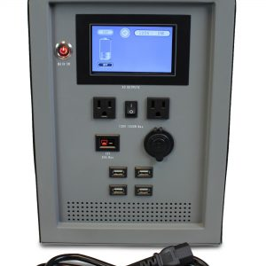 Lion Energy 1500 Watt Expandable FTB 50 Ascent Solar Generator Kit with 1 Panel, Expandable Battery Pack, & EMP Bag-2317