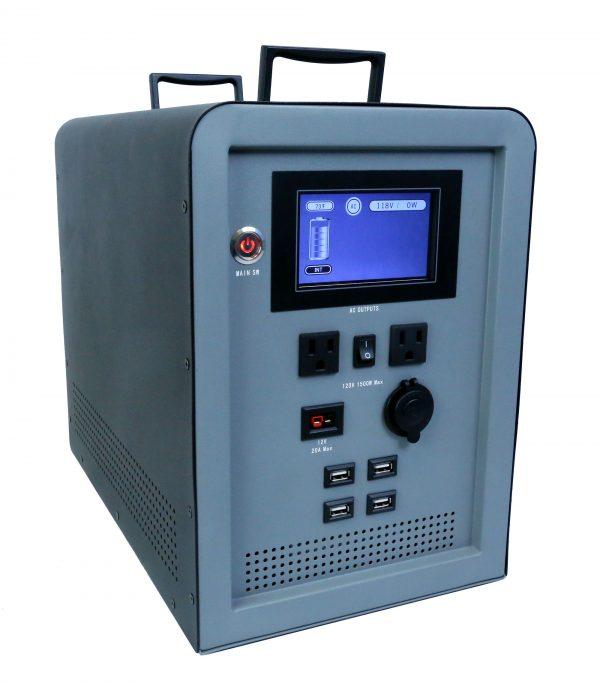 Lion Energy 1500 Watt Expandable FTB 50 Ascent Solar Generator Kit with 3 Panels & Expandable Battery Pack-2328
