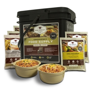 Wise Food Storage 56 Serving Breakfast and Entree Grab and Go Food Kit-0