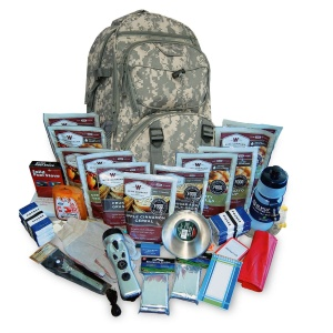 Wise Food Storage 2 Week Essential Survival Backpack 16 lbs 20x10x10 CAMO-0
