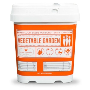Wise Food Storage Everlasting-Vegetable Heirloom Seed Bucket-0