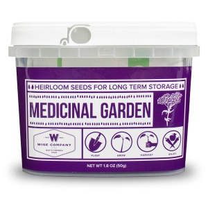 Wise Food Storage Medicinal Heirloom Seed Bucket-0