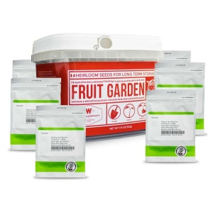 Wise Food Storage Fruit Heirloom Seed Bucket-2571