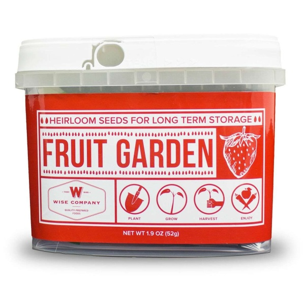 Wise Food Storage Fruit Heirloom Seed Bucket-0