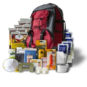 Wise Food Storage 5 Day Survival Back Pack Red-0